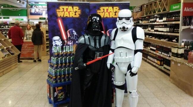 Star Wars Getränke Promotion